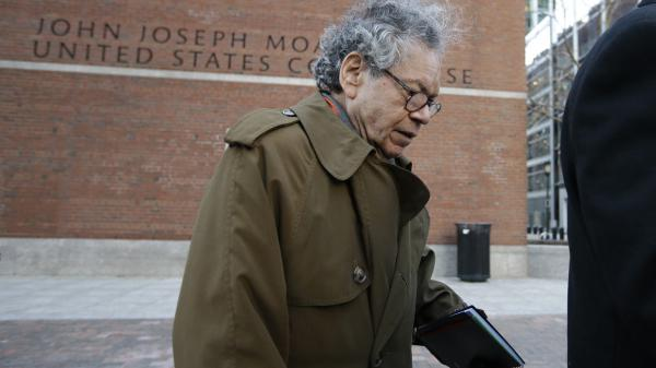 Insys Therapeutics founder John Kapoor departs federal court in Boston earlier this year.