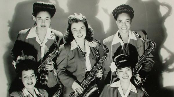 The International Sweethearts of Rhythm in the 1940s.