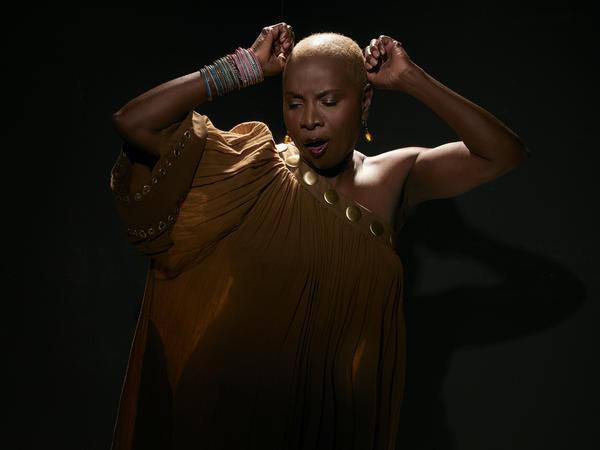Vocalist Angelique Kidjo pays tribute to Celia Cruz on her new album, <em>Celia.</em>