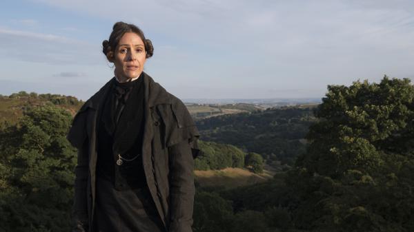 Suranne Jones stars as Anne Lister — sometimes called the first modern lesbian — in <em>Gentleman Jack.</em>
