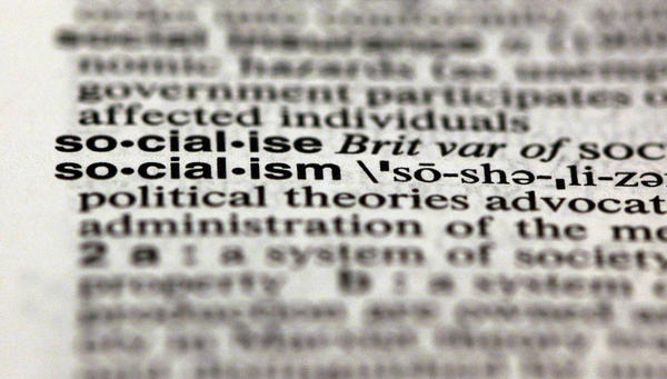 """Thanks to the presidential election, """"socialism"""" and """"capitalism"""" were Merriam-Webster's most-looked-up words of the year in 2012."""