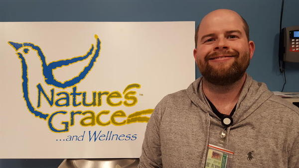"Tim O'Hern is COO of Nature's Grace and Wellness, a medical marijuana cultivation facility. ""It's certainly been a learning process for me."""