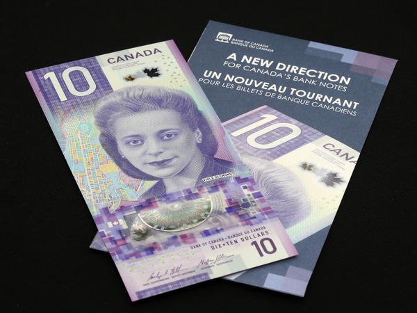 """Canada's new $10 banknote, featuring civil rights activist Viola Desmond, won """"Bank Note of the Year"""" Award for 2018."""
