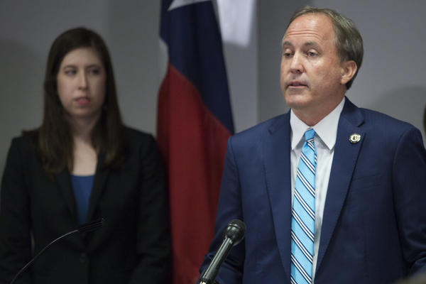 Attorney General Ken Paxton was removed from a lawsuit filed over the state's attempt to remove suspected noncitizens from voter rolls. It's unclear what he'll do with a list of names the state gave him to look into for potential voter fraud.