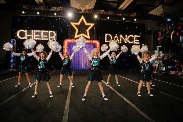 You've formed a Book Club — now let's see some spirit! Seniors go cheerleading in <em>Poms</em>.