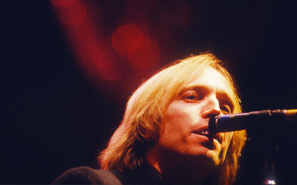 Tom Petty performs with the Heartbreakers in Belgium in 1992.
