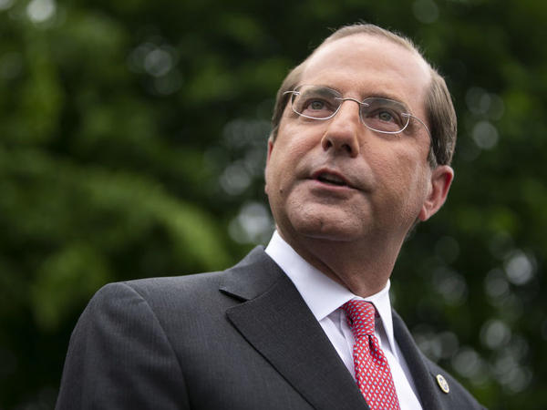 Alex Azar, secretary of Health and Human Services, announced a new rule requiring drugmakers to publish drug list prices in TV ads.