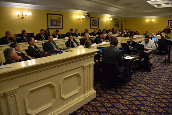 House Finance Committee meets to discuss changes to budget bill.