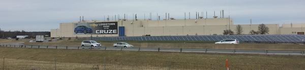 The Lordstown plant offers ample space for electric vehicle production.