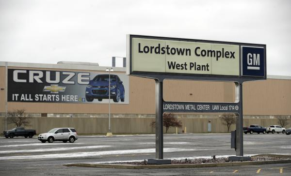 The GM plant in Lordstown, Ohio, closed in 2019 as part of a massive company restructuring.