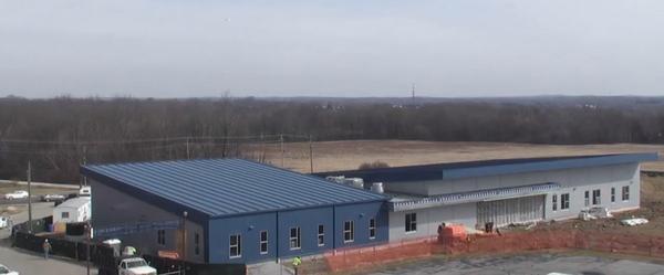The expansion of the Kent State University airport will include new classrooms and simulators, and is slated to open this fall.