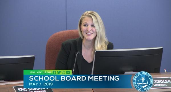 Sarasota County School Board Member Bridget Ziegler