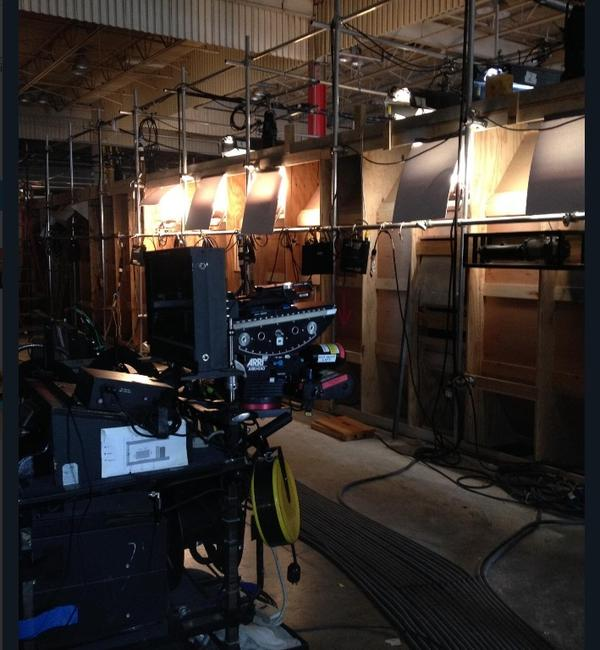 "The Ohio Film Office shared a photo from the set of a film called ""The Tank"", being shot in Granville."