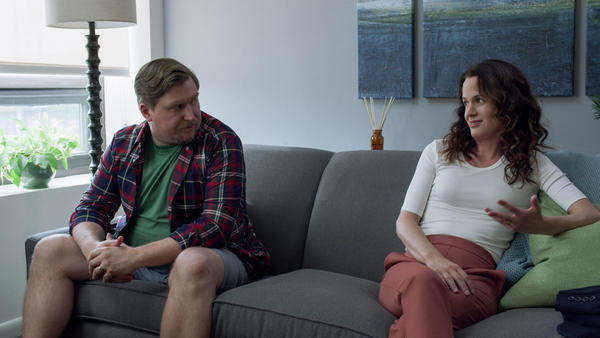 In the third and final season of <em>Easy</em>, a show about people whose lives are anything but, Michael Chernus and Elizabeth Reaser reprise their roles as a couple experimenting with an open marriage.