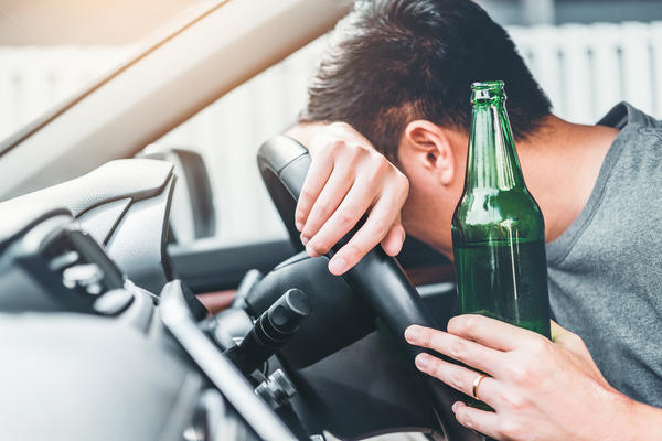 The driver who nearly killed Jeff Kudlacik had consumed at least eight alcoholic  beverages over several hours before he got into his car.