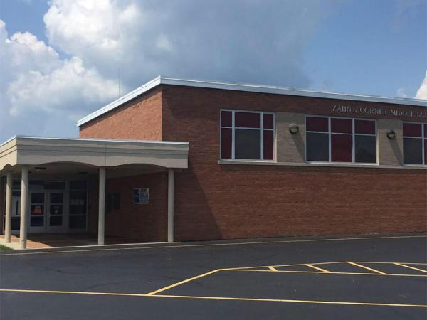 Zahn's Corner Middle School has been closed after uranium was detected inside the school.