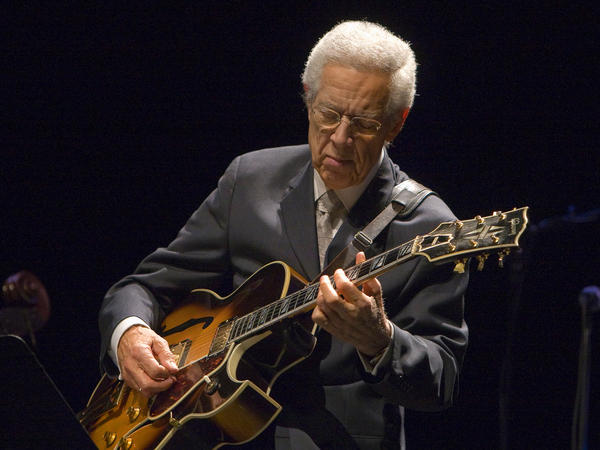 Jazz guitarist Kenny Burrell, in an undated photo.