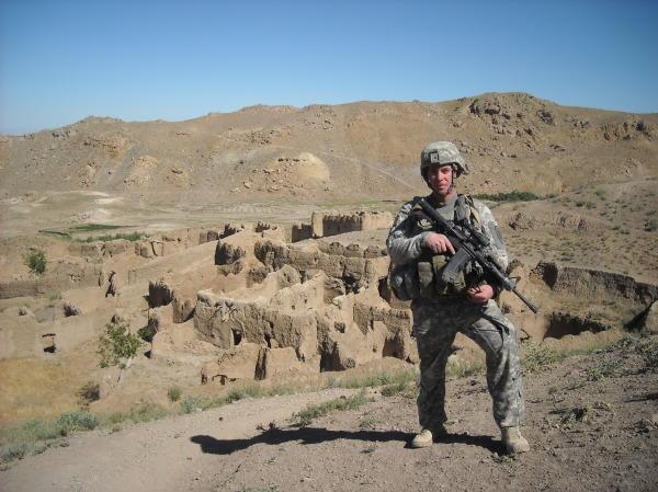 Paul Darling in Afghanistan.