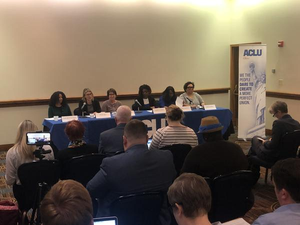ACLU talks about its lawsuit