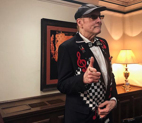 Rock and Roll Hall of Famer Rick Nielsen from the band Cheap Trick visits Springfield on May 15, 2019. Nielsen is pushing for a Rockfrod casino, saying he wants to use his star power to help bring economic opportunities to his hometown.