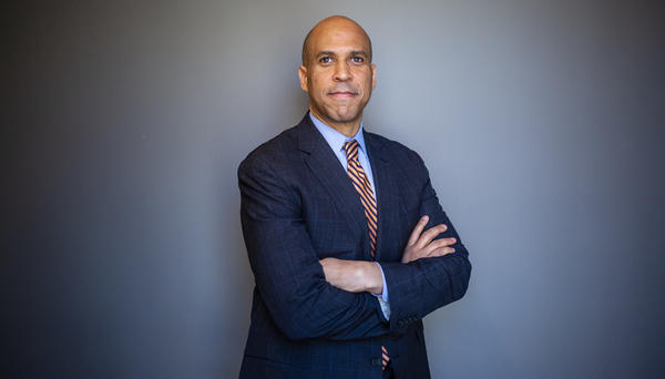 Sen. Cory Booker, D-N.J., spoke with the NPR Politics Podcast about why he is running for president and the events that propelled him to this point.
