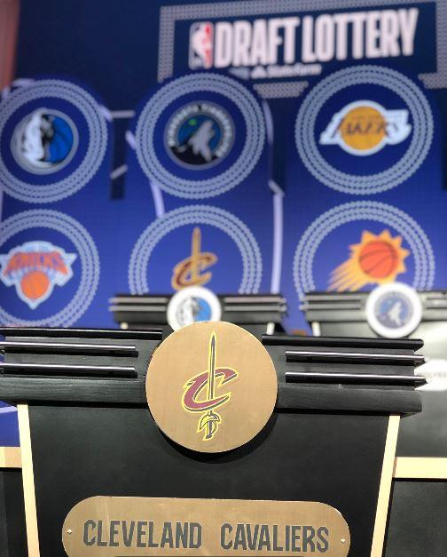 Despite the second-worst record in the NBA, the Cavs ended up with the 5th overall draft pick in last week's lottery