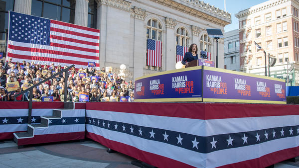 Sen. Kamala Harris will hold a distinct advantage in the 2020 California primary: she's run and won three statewide elections, and has high name recognition among voters in the state. Harris launched her presidential campaign in Oakland on Jan. 27.