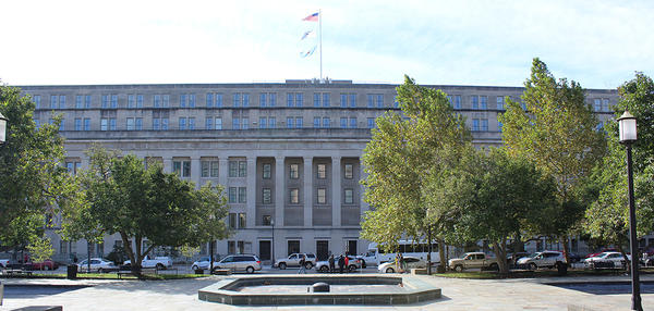 The current location of the Bureau of Land Management headquarters, in Washington, D.C.