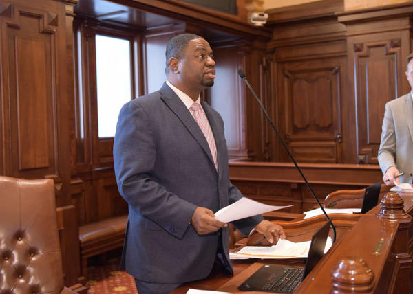State Sen. Emil Jones III (D-Chicago), and about a dozen other lawmakers sent Gov. J.B. Pritzker and legislative leaders a letter last week urging them to consider minority businesses and their involvement in the gambling industries.