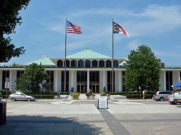 File photo of the North Carolina Legislative building.