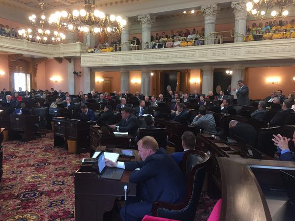 Ohio House debates energy bill, HB6, before passing the chamber by a vote of 53-43.