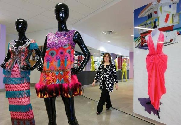Miami Dade College's Director of Academic Program Development Marimar Molinary at the Miami Fashion Institute.