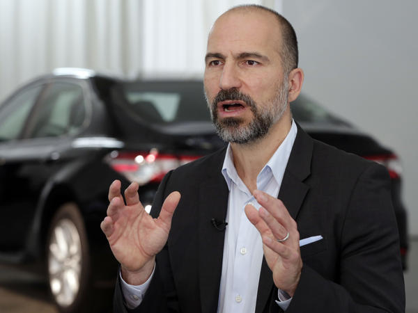 Uber CEO Dara Khosrowshahi says he expects Uber and Lyft will be easing off their price-slashing battle soon.