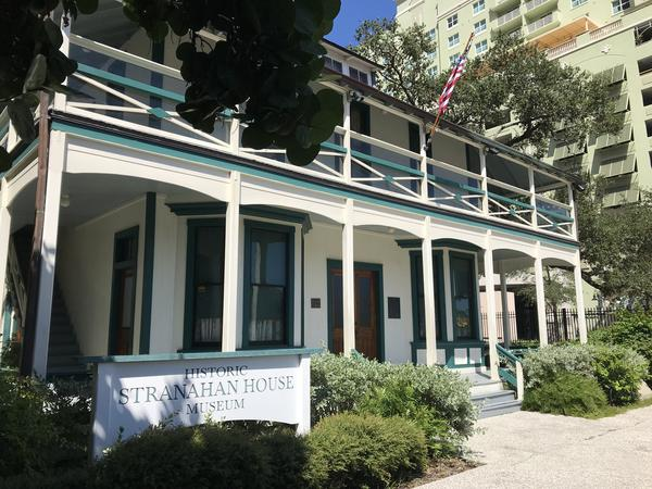 The Historic Stranahan House and Museum sits just off the Tarpon River, near Las Olas. In recent years, king tides, sea-level rise and Hurricane Irma flooding have soaked the grounds.