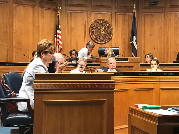 Members of the House Education committee met Thursday, May 30, to consider the K-12 funding formula in next year's budget.