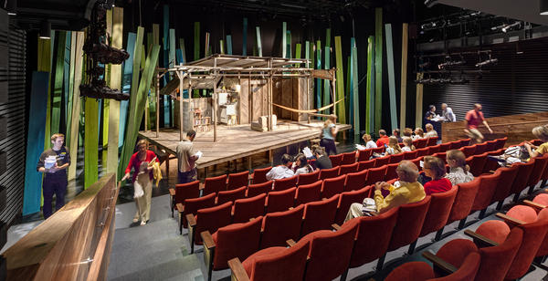 The 112-seat Claire Tow Theater is the new home of LCT3, a third venue of the Lincoln Center Theater that features work by new playwrights and directors. Tickets priced at $20 help attract younger audiences.