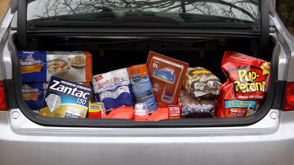 A recent trip to Costco cost NPR's Uri Berliner $303.53. The haul included razor blades, cans of soup and tuna fish, laundry detergent, heartburn relief medicine and dog treats. As an investment, it will pay off if he uses what he bought — and if the price tag for the same items is higher if he returns in a year.