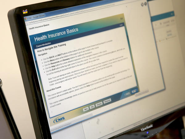 """An online course for Affordable Care Act """"navigators"""" in Florida."""
