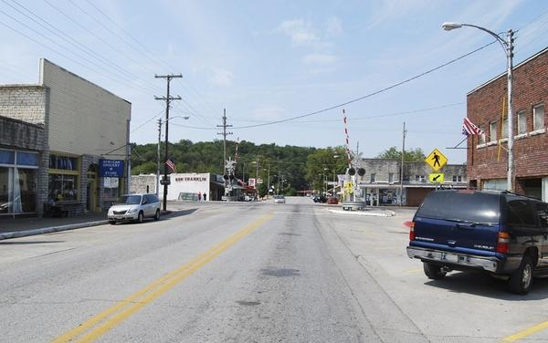 Noel, a remote Ozarks town of 1,832, is thriving thanks to the Tyson Foods poultry plant in town.