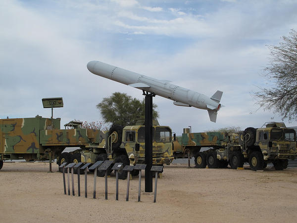 The Tomahawk Ground Launched Nuclear Cruise Missile - now displayed at the Pima Air and Space Museum in Arizona - was an important part of the U.S. arsenal during the Cold War.
