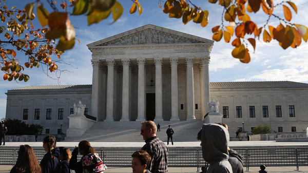 The U.S. Supreme Court heard arguments Wednesday on whether a state has to adhere to the Eighth Amendment's excessive fines clause. That could have consequences for civil forfeiture in crimes.
