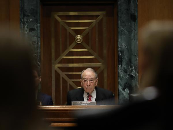 Sen. Chuck Grassley, R-Iowa, will lead the Senate Finance Committee's questioning Tuesday of executives from pharmacy benefit managers about drug costs.