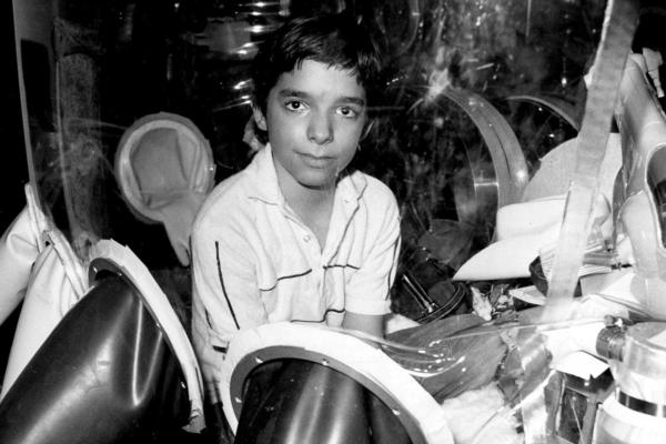 David Vetter, pictured in September 1982 inside part of the bubble environment that was his protective home until he died in 1984. Today most kids born with severe combined immunodeficiency are successfully treated with bone marrow transplants, but researchers think gene therapy is the future.