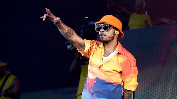 """Anderson .Paak & The Free Nationals perform at 2019 Coachella Valley Music And Arts Festival on April 19, 2019. .Paak's single """"Make Me Better"""" featuring Smokey Robinson is featured on this month's <em>Heavy Rotation</em>."""