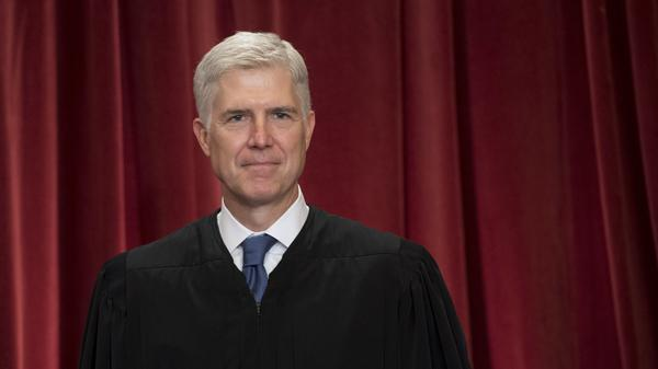 Supreme Court Justice Neil Gorsuch, pictured in 2017, has proven to be a deciding vote on Native American rights.