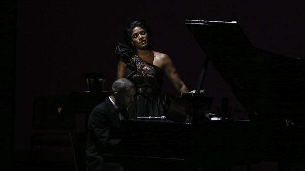 Alicia Hall Moran and pianist Jason Moran perform <em>Two Wings: The Music of Black America in Migration</em> at The John F. Kennedy Center for the Performing Arts.