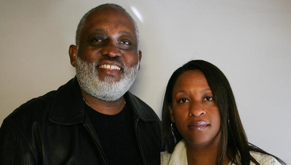Dr. Lynn Weaver and his daughter Kimberly at StoryCorps in 2007.