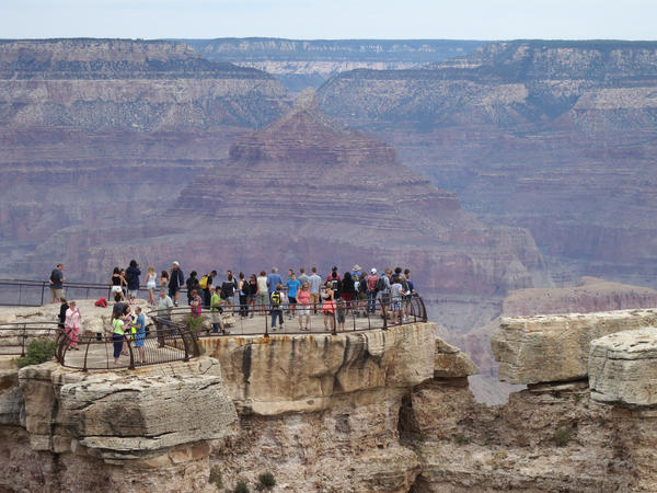 Grand Canyon officials don't keep track of visitors by country of residence, but Mandarin-language brochures are the most in demand there. The Arizona Office of Tourism estimates that in 2018, the number of Chinese visitors to the state dipped 3.7%, after nearly quadrupling from 2010 to 2017.