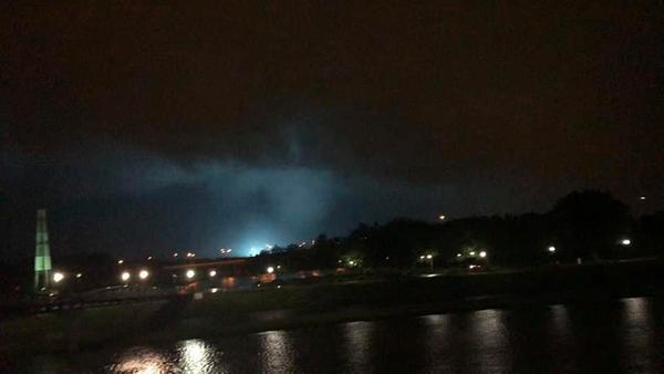 At least two tornadoes touched down in the suburbs of Dayton late Monday night.
