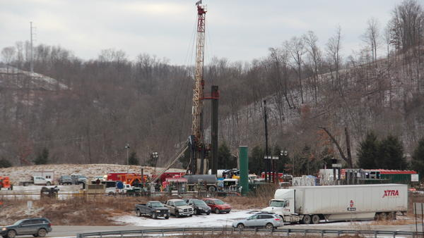 Range Resources was sued over the effects of drilling Washington County, Pa., in 2012.